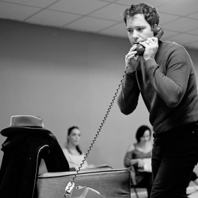 Gabriel Vick in Promises, Promises rehearsals. © Claire Billyard