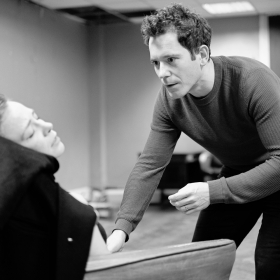 Daisy Maywood & Gabrick Vick in Promises, Promises rehearsals. © Claire Billyard