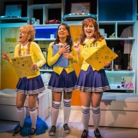 Lauren Samuels, Ashleigh Gray and Lizzy Connolly in Vanities. © Pamela Raith
