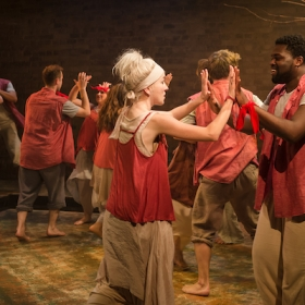 Children of Eden at the Union Theatre. © Scott Rylander