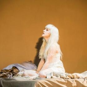 Sophia Anne Caruso in Lazarus. c Johan Persson.