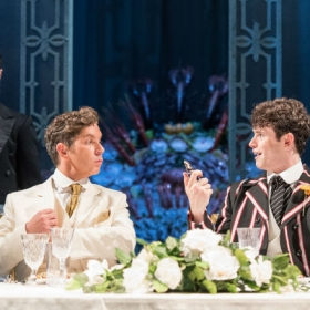 Charlie Stemp & Gerard Carey in Half a Sixpence. © Manuel Harlan