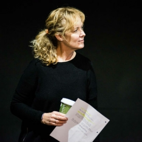 Helen Hobson in Muted rehearsals. © Savannah Photographic