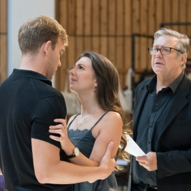In rehearsal for Follies. © Johan Persson