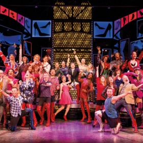 The cast of Kinky Boots, Sep 2016. © Helen Maybanks