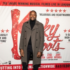 Cast screening of the cinema release of Kinky Boots The Musical, Jan 2020. © Darren Bell