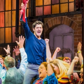 Kinky Boots' final West End cast, June 2018
