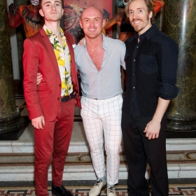 Anthony Selwyn, Andrew Patrick-Walker & Stuart Boother at Bat Out Of Hell Opening Night Party credit Piers Allardyce