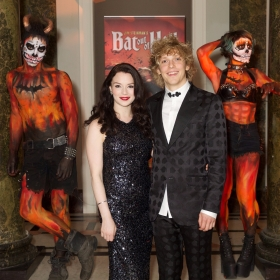 Christina Bennington & Andrew Polec at Bat Out Of Hell Opening Night Party credit Piers Allardyce (2)