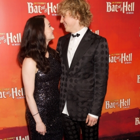 Christina Bennington & Andrew Polec at Bat Out Of Hell Opening Night Party credit Piers Allardyce (5)