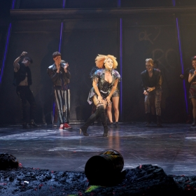 Danielle Steers at Curtain Call of Bat  Out Of Hell credit Piers Allardyce