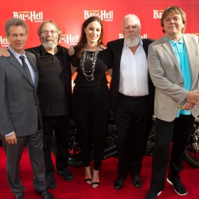 David Sonenberg, Michael Cohl, Cressida Pollock, Tony Smith & Randy Lennox at Bat Out Of Hell press night, credit Piers Allardyce