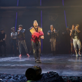 Dom Hartley-Harris at Curtain Call of Bat Out Of Hell credit Piers Allardyce