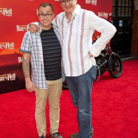 Joe Pasquale and Joe Tracini -  Bat Out Of Hell Press night - credit Piers Allardyce (24)