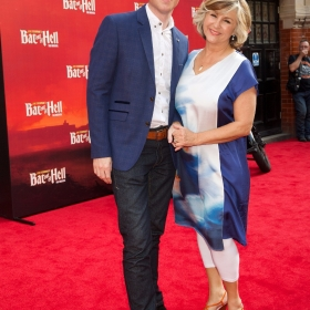 Mike Christie and Lesley Garrett -  Bat Out Of Hell Press night - credit Piers Allardyce (27)
