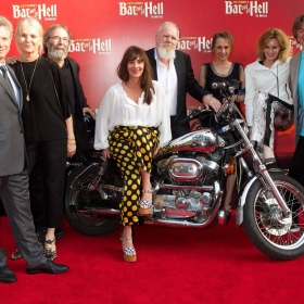 Producers David Sonenberg, Michael Cohl, Tony Smith & Randy Lennox with their partners at Bat Out Of Hell press night, credit Piers Allardyce