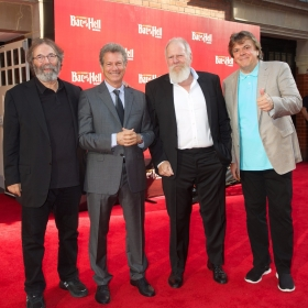 Producers Michael Cohl, David Sonenberg, Tony Smith & Randy Lennox -  Bat Out Of Hell Press night - credit Piers Allardyce