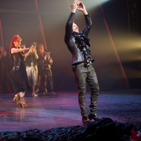 Rob Fowler at Curtain Call of Bat Out Of Hell credit Piers Allardyce