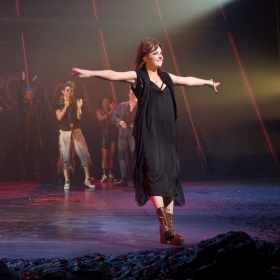 Sharon Sexton at Curtain Call of Bat  Out Of Hell credit Piers Allardyce