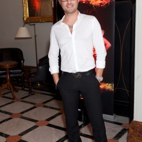 Vincent Simone at Bat Out Of Hell Opening Night Party credit Piers Allardyce