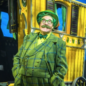 Rufus Hound in Wind In The Willows. © Marc Brenner