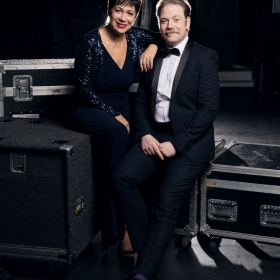 Denise Welch & Rufus Hound for The Wind in the Willows at the London Palladium. © Darren Bell