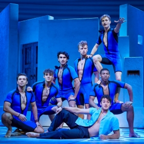 Cast of Mamma Mia!, June 2019. © Brinkhoff & Migenburg
