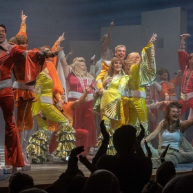 Mamma Mia!'s 20th West End Anniversary, Novello Theatre, London © Jeff Moore