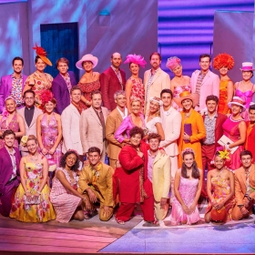 Cast of Mamma Mia, 2017. © Brinkhoff & Migenburg