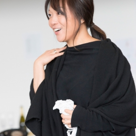 Naoko Mori in On the Town rehearsals. © Johan Persson