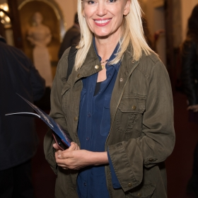 Anneka Rice on opening night of Carousel. © Craig Sugden