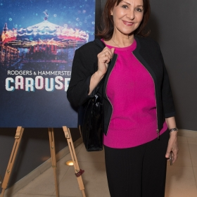Arlene Phillips on opening night of Carousel. © Craig Sugden