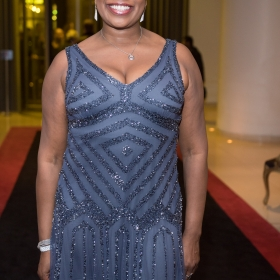 Brenda Edwards on opening night of Carousel. © Craig Sugden