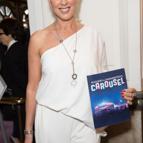 Claire Sweeney on opening night of Carousel. © Craig Sugden