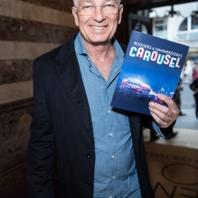 David Gower on opening night of Carousel. © Craig Sugden