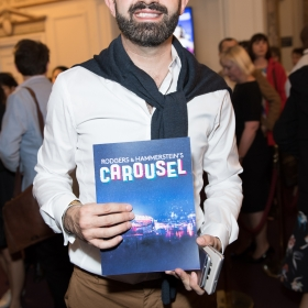 Kolchagov Barba on opening night of Carousel. © Craig Sugden