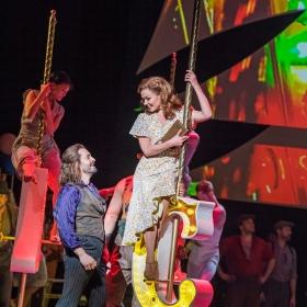 Alfie Boe & Katherine Jenkins in Carousel. © Tristram Kenton