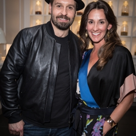 Alfie Boe and Sarah Boe on opening night of Carousel. © Craig Sugden