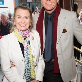 Hayley Mills & Maxwell Caulfield on opening night of Carousel. © Craig Sugden