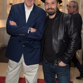 Nicholas Lyndhurst Alfie Boe on opening night of Carousel. © Craig Sugden