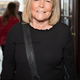 Linda Robson on opening night of Carousel. © Craig Sugden