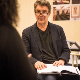 Alexander Hanson in Rehearsals for Committee.