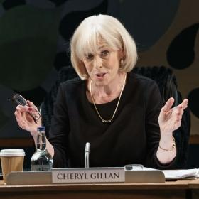 Liz Robertson in Committeee