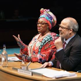 Sandra Marvin & Omar Ebrahim in Committee...