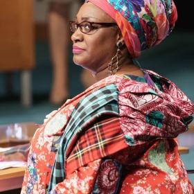 Sandra Marvin in Committee...