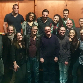 Nathan Lane meets the cast and creatives of The Frogs, 15 March 2017