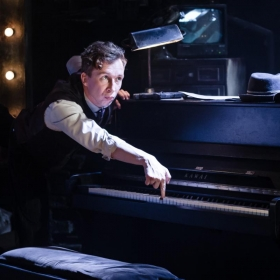 Murder for Two at the Watermill Theatre, 2018