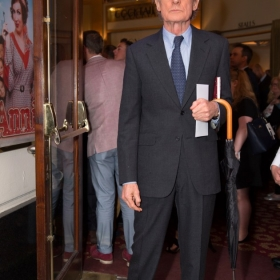 Bill Nighy at Annie opening night, 5 June 2017. © Craig Sugden