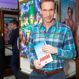 Dr Christian Jesson at Annie opening night, 5 June 2017. © Craig Sugden