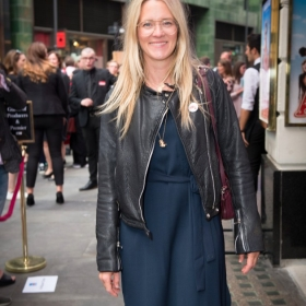 Edith Bowman at Annie opening night, 5 June 2017. © Craig Sugden